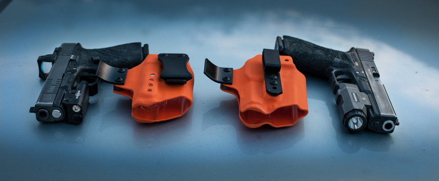 XC1 to the left, APL on the right. With our Raptor holsters.